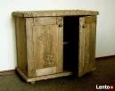 Komoda z litego drewna - ręcznie rzeźbiona - 2