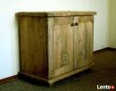 Komoda z litego drewna - ręcznie rzeźbiona - 4