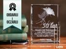 Kryształ z wygrawerowaną różą 3D dla ukochanej osoby Bydgoszcz