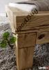 Masywne lózko debowe z litego drewna 180x200 cm! - 2