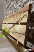 Masywne lózko debowe z litego drewna 180x200 cm! - 3