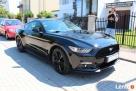 Auto do Ślubu! Czarny Ford Mustang - 6
