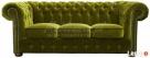 Pikowana sofa Chesterfield Classic 3 os z funkcją spania - 1
