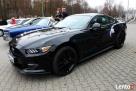 Auto do Ślubu! Czarny Ford Mustang - 2