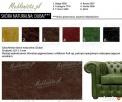 Sofa narożna chesterfield z funkcją spania i pojemnikiem - 4