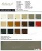 Ekskluzywna srebrna złota sofa narożna w stylu chesterfield - 4