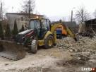Wywóz Ziemi Gruzu Wyburzenia Rozbiórki koparko ładowarka Bobrowniki