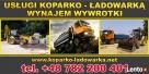 Wywóz Ziemi Gruzu Wyburzenia Rozbiórki koparko ładowarka - 2