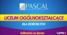 Liceum dla Dorosłych za darmo- zdaj maturę z Pascalem Sierpc