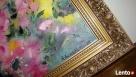 Obraz olejny Duże czerwone kwiaty 20 - 2