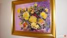 Obraz olejny Żółte róże - 2