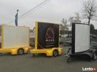 Mobilna reklama dla każdego-przyczepy reklamowe w WARK Group Suchy Las