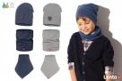 Czapki dla dzieci dla chłopca na jesień zimę Broel 37-57 - 1