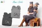 Czapki dla dzieci dziewczynki na jesień zimę Broel 37-57 - 7