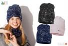 Czapki dla dzieci dziewczynki na jesień zimę Broel 37-57 - 5