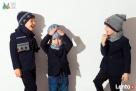 Czapki dla dzieci dla chłopca na jesień zimę Broel 37-57 - 3