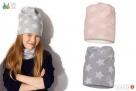 Czapki dla dzieci dziewczynki na jesień zimę Broel 37-57 - 4