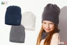 Czapki dla dzieci dziewczynki na jesień zimę Broel 37-57 - 6