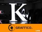 Kasetony reklamowe, litery podświetlane led _ duże gabaryty - 7