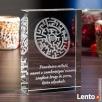Kryształ 3D Labirynt Miłości na prezent dla ukochanej! - 1