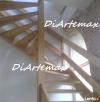 schody drewniane, samonośne, stopnie na beton, podstopnice - 5