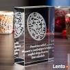 Kryształ 3D Labirynt Miłości na prezent dla ukochanej! - 2