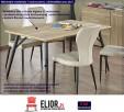 Minimalistyczny Stół Fabis 150x90 - Dąb Sonoma - 2
