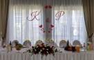 Inicjały, Na Ściankę Młodych - Dekoracje Ślubne, Weselne