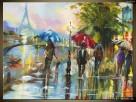 Paryż w deszczu, Obrazy na płótnie, Pomysł na prezent,Canvas - 3