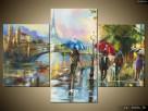 Paryż w deszczu, Obrazy na płótnie, Pomysł na prezent,Canvas - 6