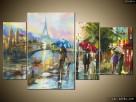 Paryż w deszczu, Obrazy na płótnie, Pomysł na prezent,Canvas - 8