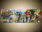 Paryż w deszczu, Obrazy na płótnie, Pomysł na prezent,Canvas - 7