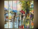 Paryż w deszczu, Obrazy na płótnie, Pomysł na prezent,Canvas - 4