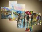 Paryż w deszczu, Obrazy na płótnie, Pomysł na prezent,Canvas - 2