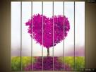 Drzewko miłości, Obraz na płótnie, Canvas, TRYPTYK, sklep - 8