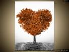 Drzewko miłości, Obraz na płótnie, Canvas, TRYPTYK, sklep - 4