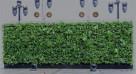 Ogród wertykalny wiszący Zielona ściana Model B6 - 3