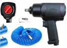 Klucz pneumatyczny udarowy 1/2 1500 Nm SATRA + WĄŻ - 1