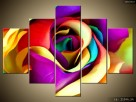 Róża z materiału, Obrazy, Canvas, Obraz na płótnie, prezent