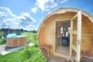 Całoroczne Domy Rekreacyjne na Mazurach z sauną-nad jeziorem