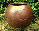 Ceramiczna kula ogrodowa 29 cm. mrozoodporna. - 6