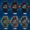 Męski militarny DUŻY zegarek styl G-SHOCK też kolor MORO - 7