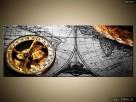 Zabytkowa mapa, OBRAZY, Canvas, obraz na płótnie, prezent - 7