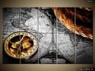 Zabytkowa mapa, OBRAZY, Canvas, obraz na płótnie, prezent - 6