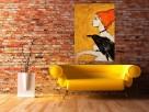 """Akryl na płótnie - obraz """"ZWIERZĘ MOCY"""" artystki A. Laube - 3"""