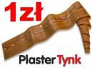 elastyczna deska elewacyjna PlasterTynk imitacja drewna - 2
