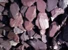 Grys Kamień Ozdobny do Ogrodu PLUM SLATE 30-60mm 25KG - 2