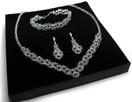 Biżuteria Ślubna Swarovski i srebro - 4