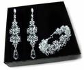 Biżuteria Ślubna Swarovski - delikatny model - 1
