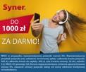 Pożyczka do 1000 zł na dowolny cel w Syner.